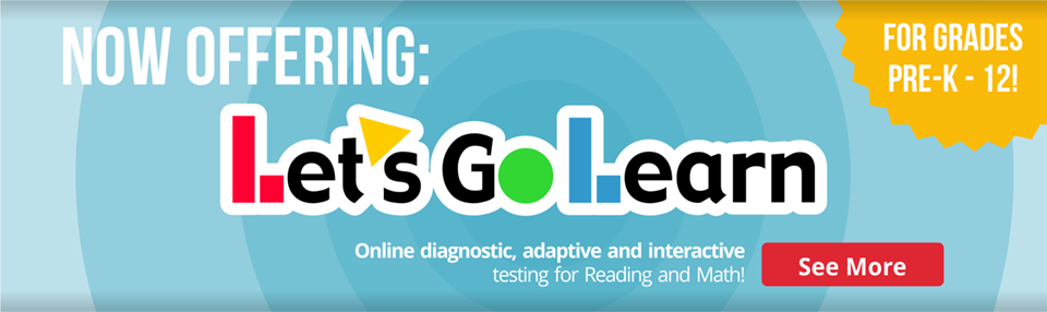 Now offering Let's Go Learn for grades Pre-K - 12